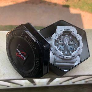 Men's white G Shock Watch
